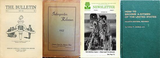 Publication covers