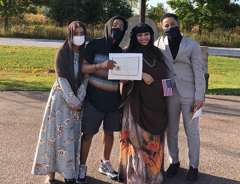 Becoming a Citizen in COVID Times
