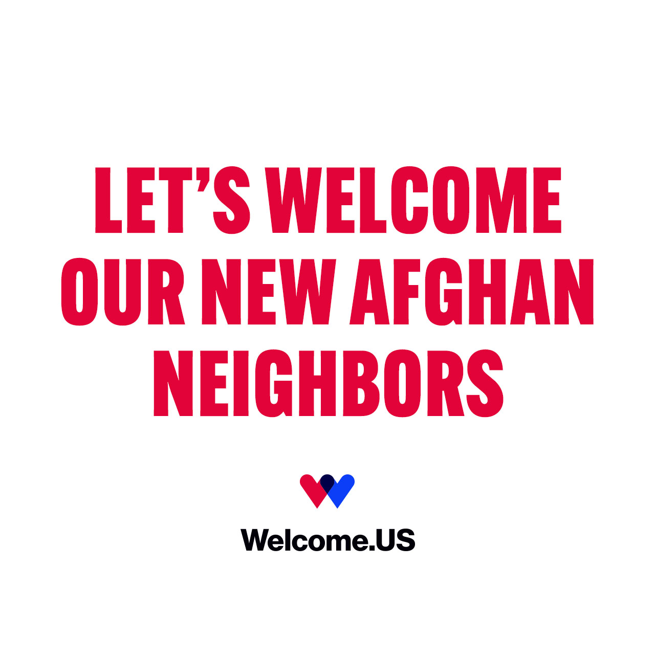 U.S. Committee for Refugees and Immigrants Joins Welcome.US to Mobilize Support for Afghan Refugees in the United States