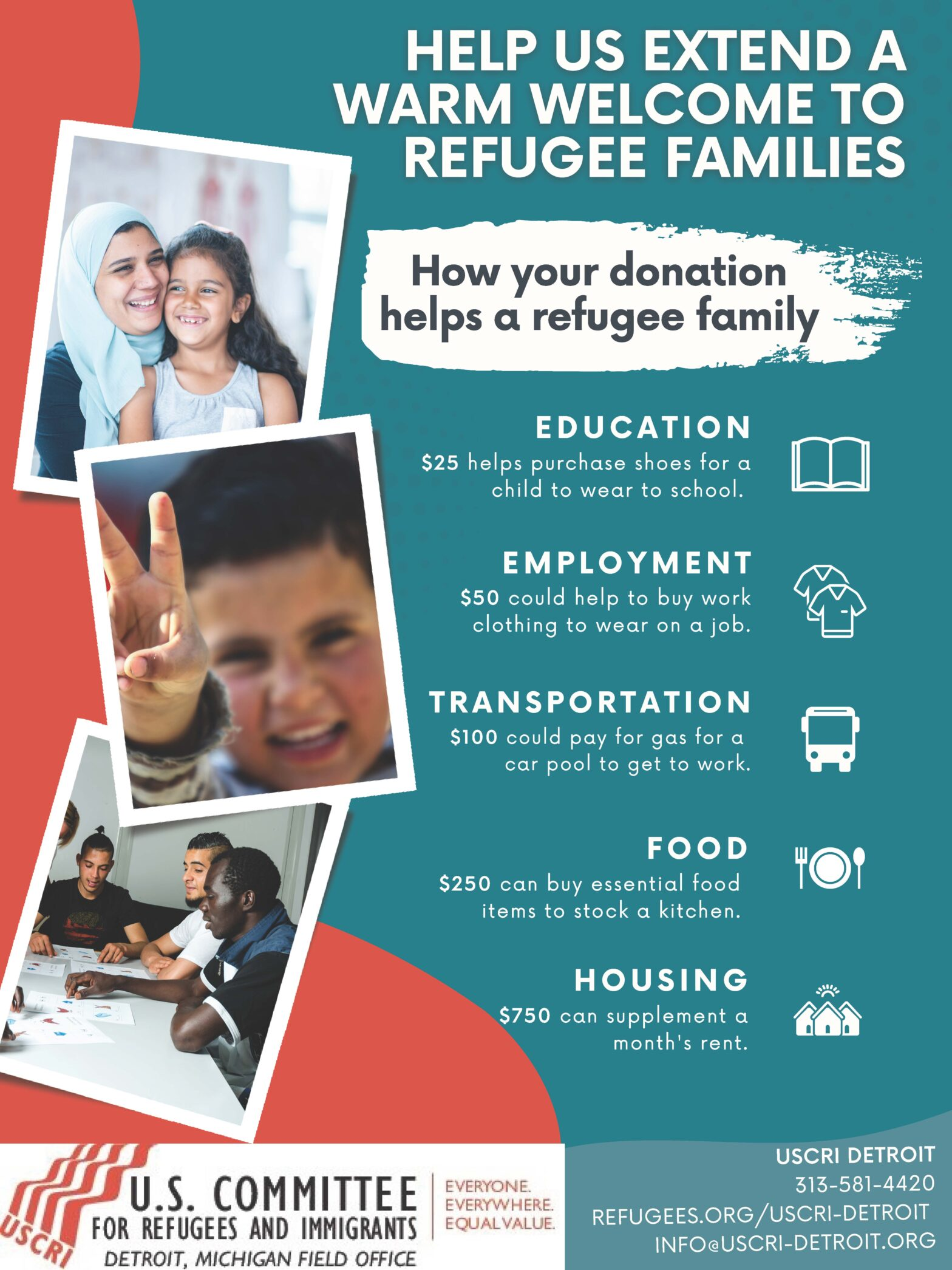 Help Us Extend a Warm Welcome to Refugee Families